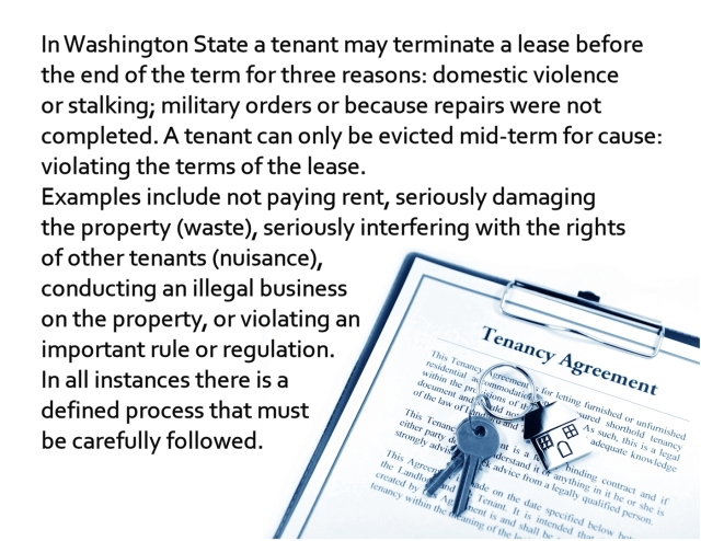 PM lease termination