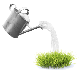 watering can cutout